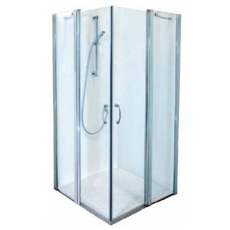 מקלחון פינתי דלת על קבוע